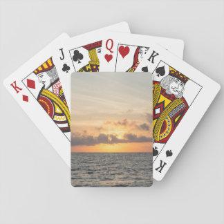 Unsinnigkeits-Strand-Morgen Spielkarten