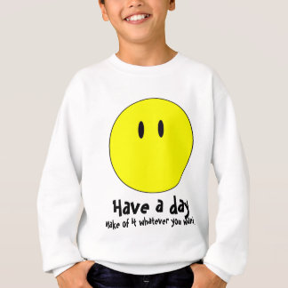 unsmiley sweatshirt