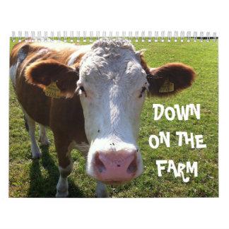 Unten auf dem Bauernhof Kalender