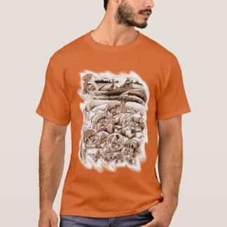 Unten auf dem Bauernhof T-Shirt