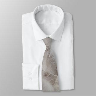 Unten Deckbett-Vogel-Feder-Fotografie elegant Bedruckte Krawatten