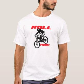 Unten Hügel-Mountainbiker T-Shirt