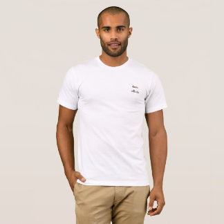 unten mit diesseits Minimalisten T-Shirt