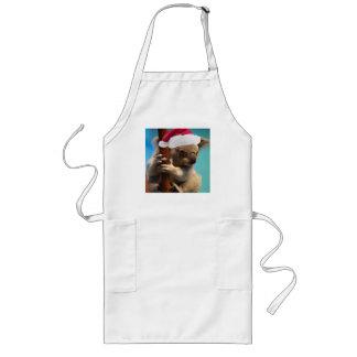 Unten unter Weihnachtskoala Lange Schürze