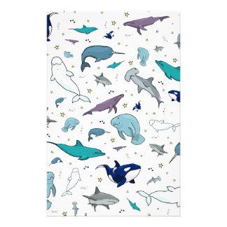 Unter dem Meer Briefpapier