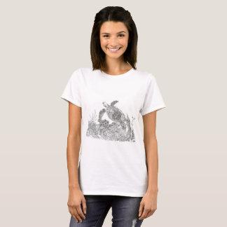 unter dem Meer kopiert T - Shirt
