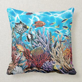 Unter dem Meerocean See-Fisch-Wasser-hellen Kissen