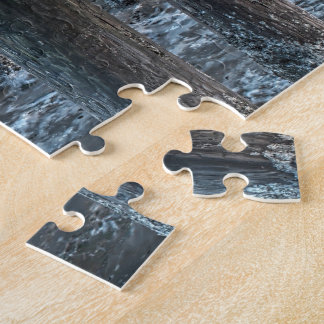 Unter dem Pier-Puzzlespiel Puzzle