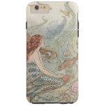 Unter der SeeVintagen Meerjungfrau Tough iPhone 6 Plus Hülle