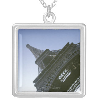Unter Eiffelturm Versilberte Kette