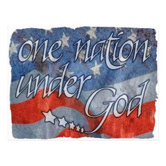 Unter Gott Postkarte