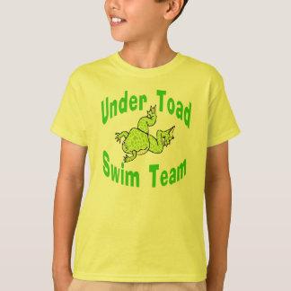 Unter Kröten-Schwimmteam T-Shirt
