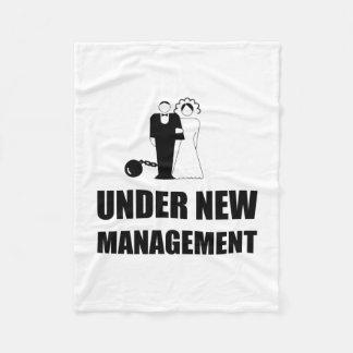 Unter neuer Management-Hochzeits-Ball-Kette Fleecedecke