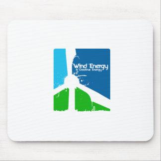 Unter Verwendung creativety in der Windenergie.  Mousepads