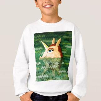 Unter Wasser-Einhorn Sweatshirt