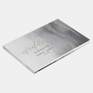 Unter Wasser elegantes Gästebuch