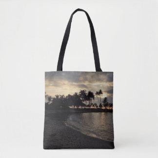 Untergehende Sonne in Hawaii Tasche
