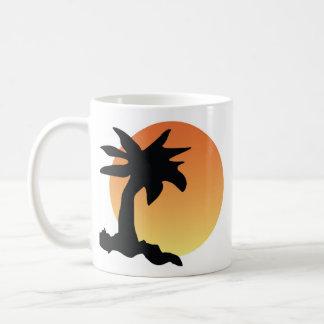 Untergehende Sonne Kaffeetasse