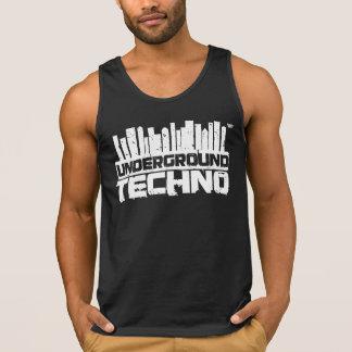 Untergrund Techno - der Behälter-Spitze der Männer Tank Top