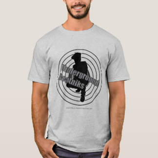 Untergrundbeatniks-Grau-T - Shirt