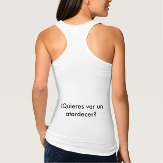 Unterhemd der Hosenträger Frau Dämmerung
