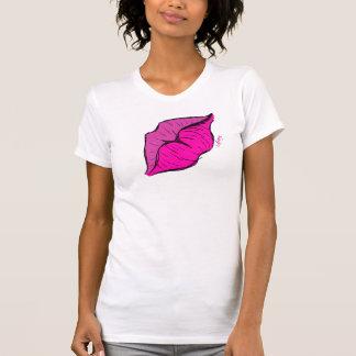 Unterhemd mit Gestaltung des Munds