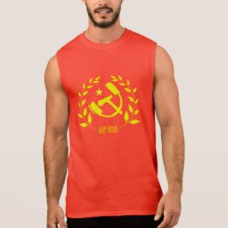Unterhemd ohne Ärmel Rap Rot