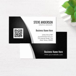 Unternehmens-QR Code-Logo - berufliches Visitenkarten