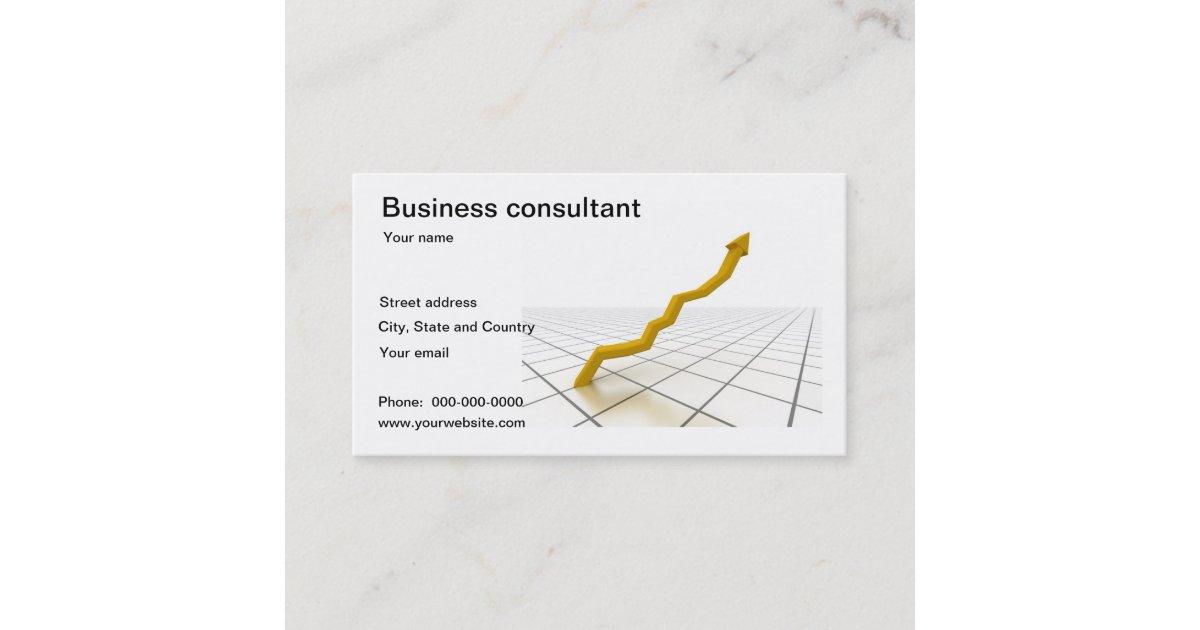 Unternehmensberater Visitenkarte Visitenkarte Zazzle De