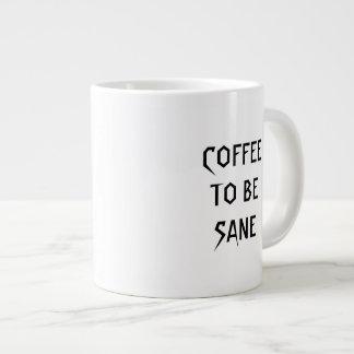 Unterricht und Kaffee Jumbo-Tasse