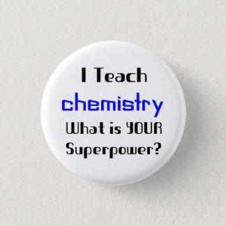 Unterrichten Sie Chemie Runder Button 3,2 Cm