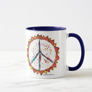 Unterrichten Sie Frieden 15oz. Tasse