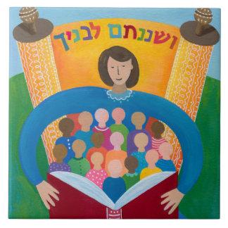 Unterrichten Sie ihnen mit Sorgfalt Hebräer Trivet Fliese