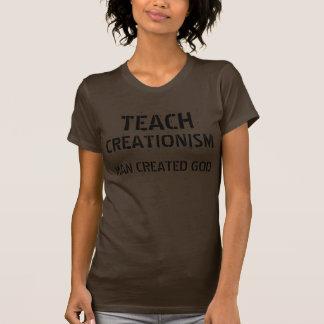 UNTERRICHTEN SIE KREATIONISMUS: Bemannen Sie T-Shirt