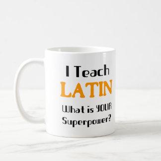 Unterrichten Sie Latein Kaffeetasse
