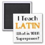 Unterrichten Sie Latein Kühlschrankmagnet