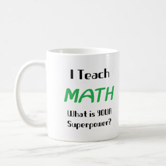 Unterrichten Sie Mathe Teetasse