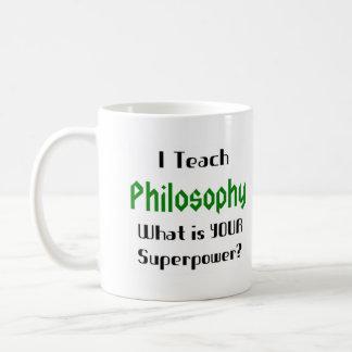 Unterrichten Sie Philosophie Kaffeetasse