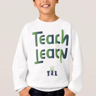 Unterrichten Sie, um Produkt zu lernen Sweatshirt