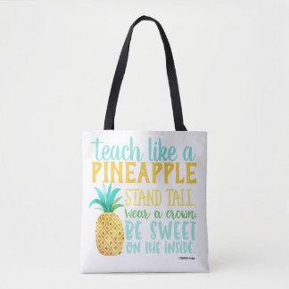 Unterrichten Sie wie eine Ananas-Tasche Tasche