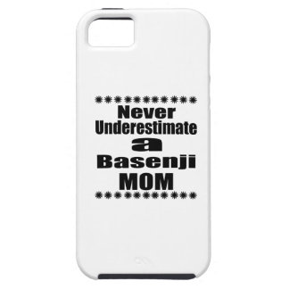 Unterschätzen Sie nie Basenji Mamma iPhone 5 Hülle