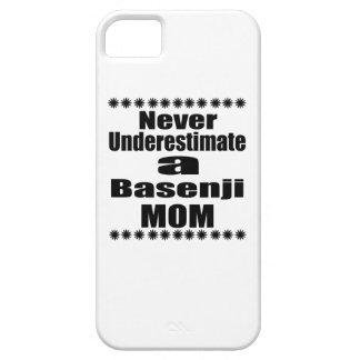 Unterschätzen Sie nie Basenji Mamma iPhone 5 Hüllen
