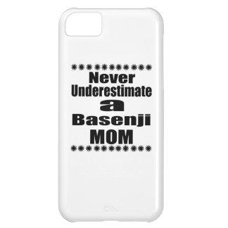 Unterschätzen Sie nie Basenji Mamma iPhone 5C Hülle