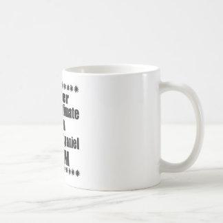 Unterschätzen Sie nie Clumber Spaniel-Mamma Kaffeetasse