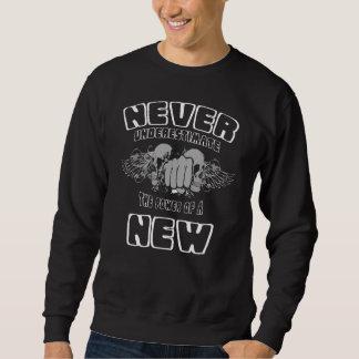 Unterschätzen Sie nie den Power von einem NEUEN Sweatshirt