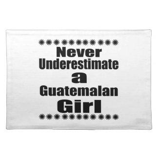 Unterschätzen Sie nie eine guatemaltekische Tischset