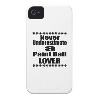 Unterschätzen Sie nie Farben-Ball-Liebhaber iPhone 4 Case-Mate Hüllen