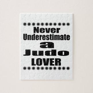 Unterschätzen Sie nie Judo-Liebhaber Puzzle