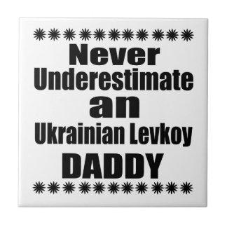 Unterschätzen Sie nie Ukrainer Levkoy Vati Fliese
