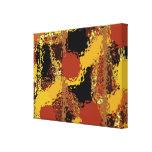Unterscheiden Sie - abstrakter Galerie Faltleinwand
